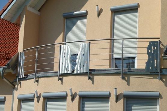 pin edelstahl balkongel nder relinggel nder on pinterest. Black Bedroom Furniture Sets. Home Design Ideas