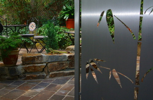 Stainless Steel Garden Design