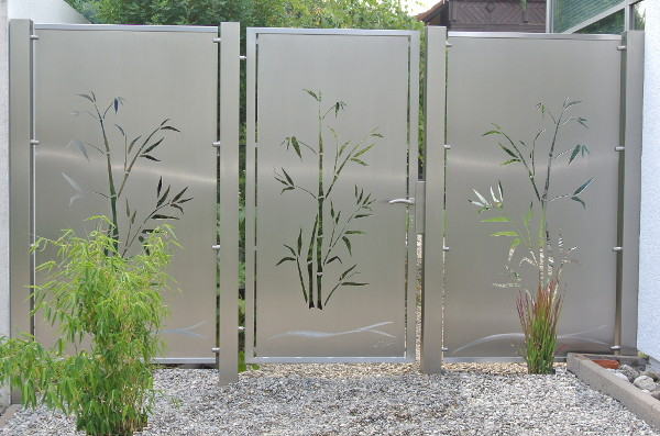 Visual Barrier, Stainless Steel Visual Barrier, Privacy Screen, Stainless Steel Privacy Screen